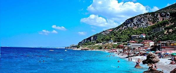 Albańskie plaże