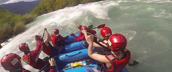 Rafting po rzece Tara
