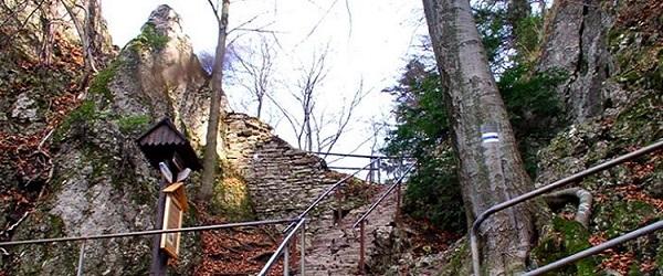 Zamkowej Górze nieopodal Krościenka nad Dunajcem
