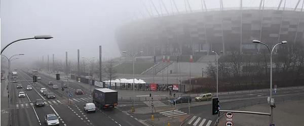 jakość powietrza w Warszawie